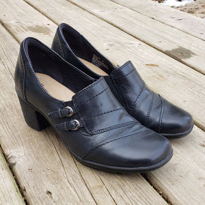 G.H. Bass & Company Tonia Leather Ankle Boots - 8